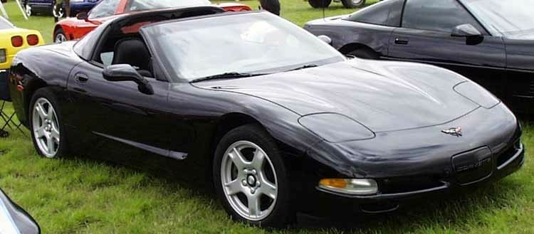 1998 Vette, Just like my current car